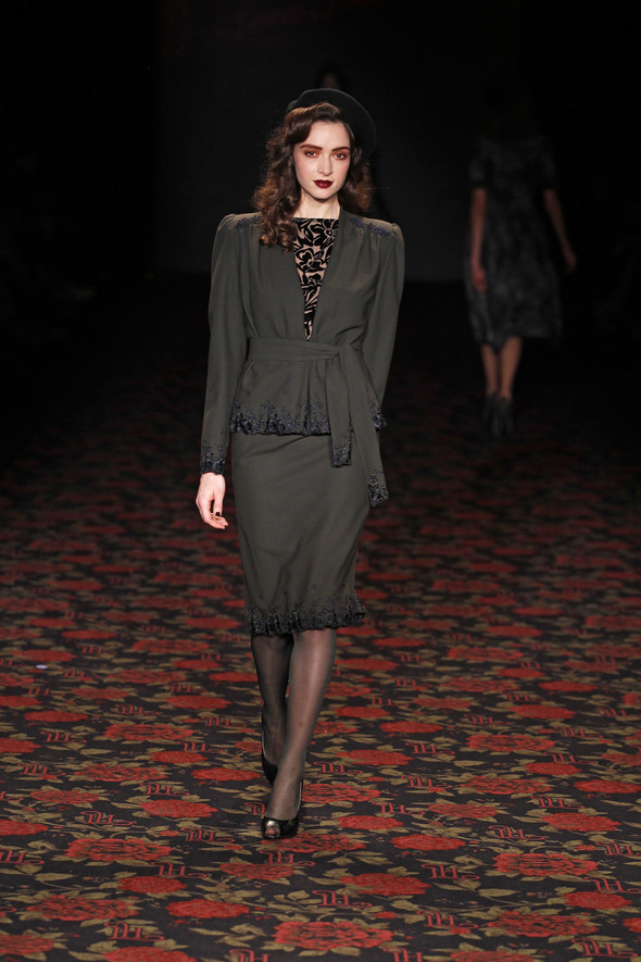 Berlin Fashion Week A/W 2012: Lena Hoschek. Изображение № 61.