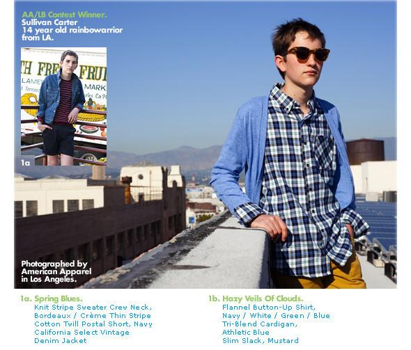 American Apparel дружит с Lookbook.nu. Изображение № 13.