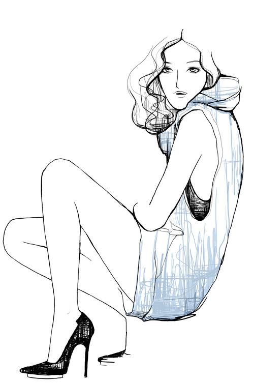 Зарисовки, вкоторых воплощена настоящая женственность. Изображение № 12.
