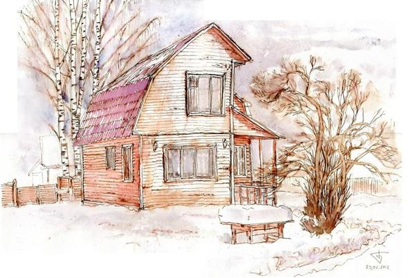 Зима. Изображение № 5.