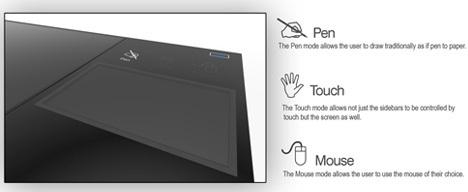 Интересный концепт ноутбука длядизайнеров ихудожников. Изображение № 3.
