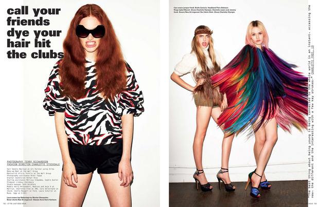Вышли новые съемки Vogue, i-D, 10 и Interview. Изображение № 35.