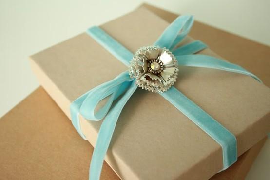 55 идей для упаковки новогодних подарков. Изображение №11.