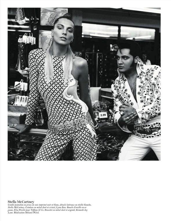 Съёмка: Дарья Вербова для французского Vogue. Изображение № 27.