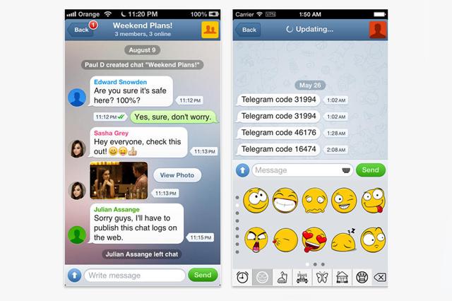 Скриншоты Telegram+. Изображение № 2.