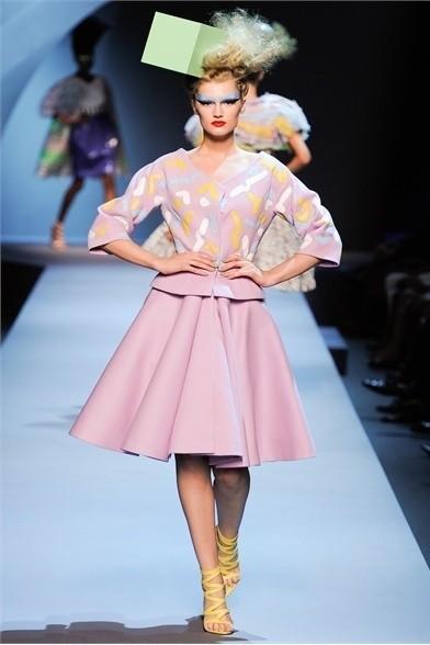 Показ коллекции Сhristian Dior Haute Couture FW 2011. Изображение № 2.