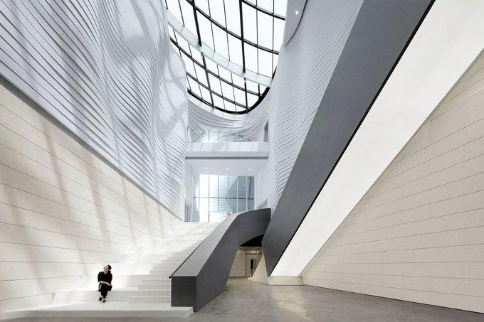 Архитектура дня: музей в Китае сбелым «слоёным» фасадом. Изображение № 20.