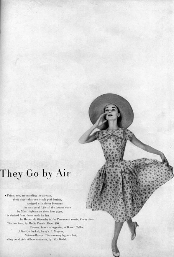 Архивная съёмка: Одри Хепберн в объективе Ричарда Аведона. Изображение № 5.