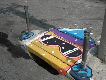 Уличные художники Сан-Пауло делают город веселее. Изображение № 19.
