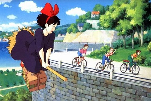 Добрый волшебник, Хаяо Миядзаки. Изображение № 34.