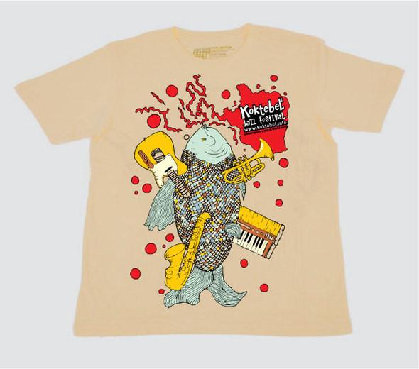 Изображение 6. Кастинг принтов для футболок SEKTA: Koktebel Jazz Fest.. Изображение № 6.
