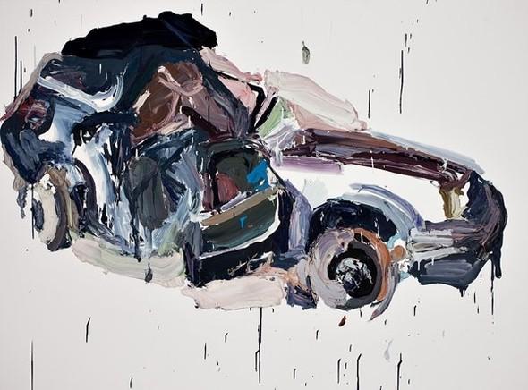Абстрактные автомобили Бена Куильти. Изображение № 1.