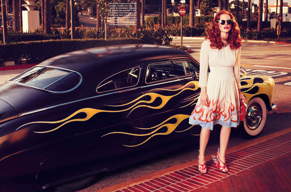 Съёмки: Harper's Bazaar, Interview, Vogue и другие. Изображение № 28.