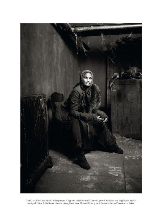 "Съёмка: ""Winter's Edge"" by Steven Meisel. Видите Россию?. Изображение № 15."