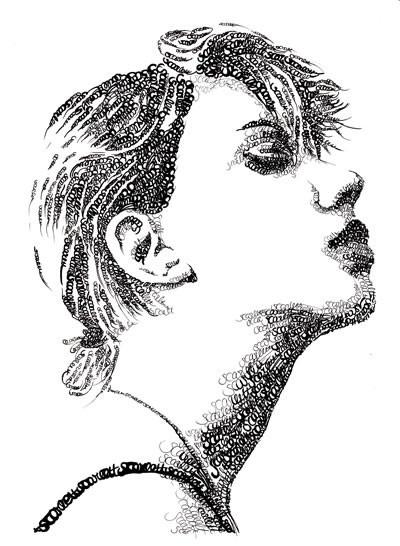 Портреты в типографике. Изображение № 6.