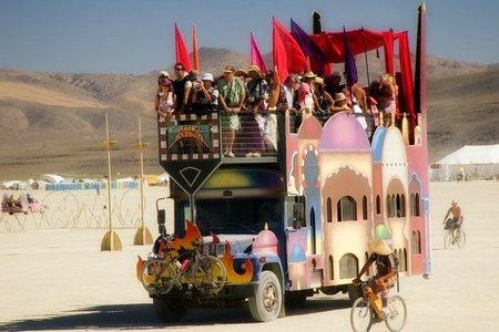 """Фестиваль """"Burning Man! """" вНеваде. Изображение № 3."""