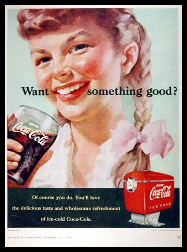 Изображение 45. Coca-cola – История бренда, история рекламы.. Изображение № 45.