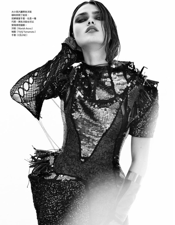 Fashion съемки: Vogue China & Taiwan October 2011. Изображение № 11.