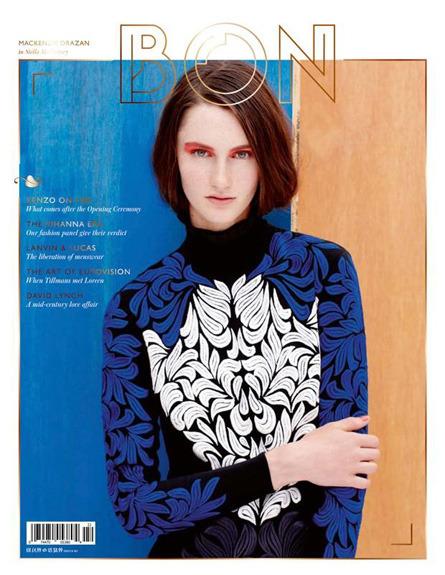 Обложки свежих номеров Bon, Garage, Purple Fashion, The Last и Vogue. Изображение № 1.