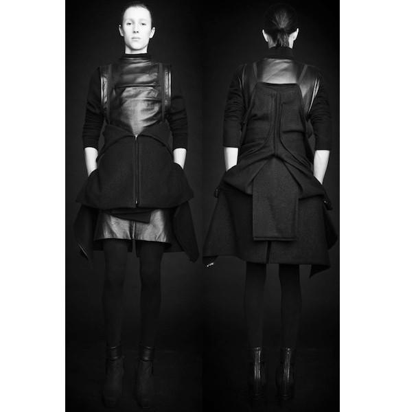 Изображение 41. Лукбуки: Bergdorf Goodman, Jaeger Black и Rad Hourani.. Изображение № 41.