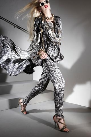 Изображение 50. Лукбуки Resort 2012: Givenchy, Lanvin.. Изображение № 49.