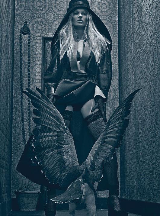 Съёмка: Кейт Мосс в объективе Стивена Кляйна. Изображение № 9.