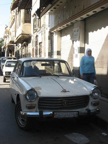 Ретро-автомобили в Сирии. Изображение № 9.