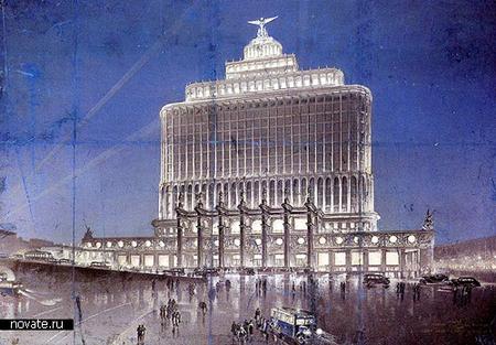 Самые грандиозные невоплощённые архитектурные проекты. Изображение № 3.