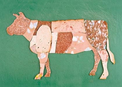 Шерстяная анатомия иликолбасные фигурки. Изображение № 25.