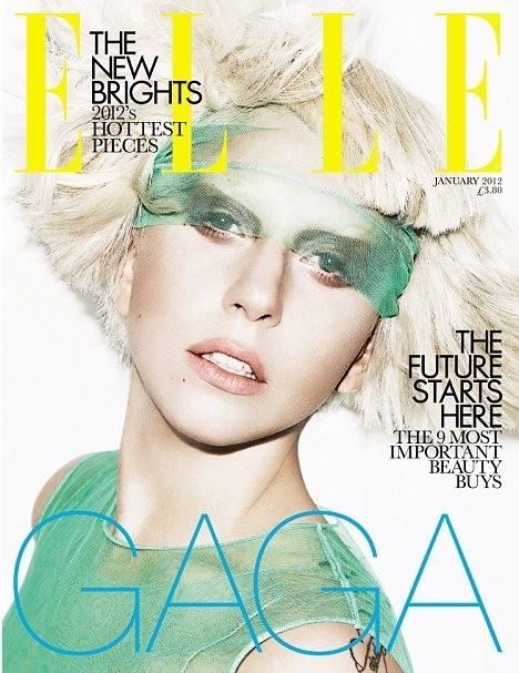 Обложки: Леди Гага для Vanity Fair и Elle. Изображение № 1.