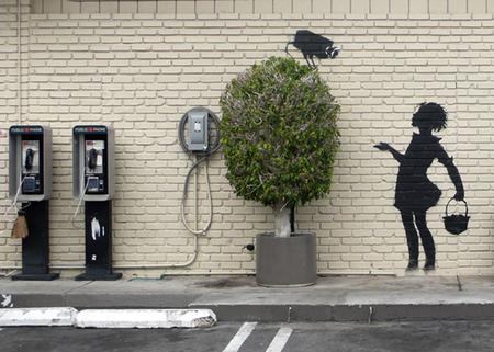 Изображение 8. Арт-терроризм Banksy.. Изображение №10.