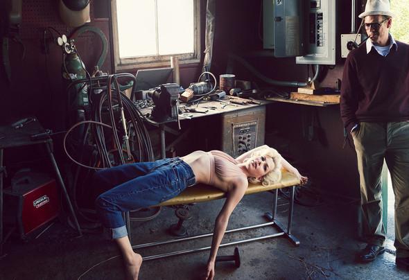 Съёмка: Мишель Уильямс для Vogue. Изображение № 5.