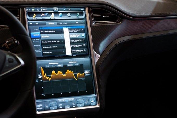 Концепт: редизайн бортового компьютера Tesla Model S . Изображение № 1.