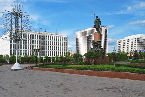 Памятник Ленину, Калужская площадь. Изображение № 15.