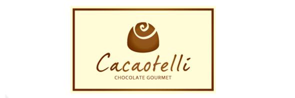 День шоколада. Вкусные шоколадные логотипы. Изображение № 13.