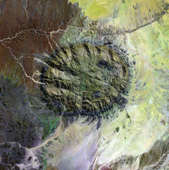Снимки Земли соспутника Landsat 7. Изображение № 1.