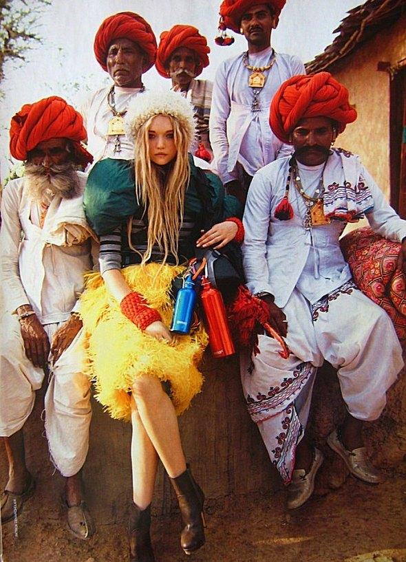 Индийское лето (Vogue Australia). Изображение № 10.