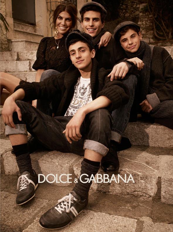 Кампании: Balenciaga, Celine, Dolce & Gabbana и другие. Изображение № 17.