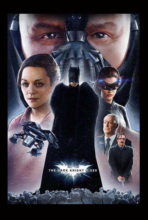 Фан-постеры «Темного рыцаря: Возрождение Легенды». Изображение № 8.