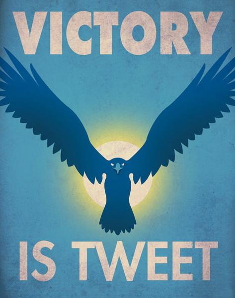 Социальные сети в постерах. Изображение № 3.