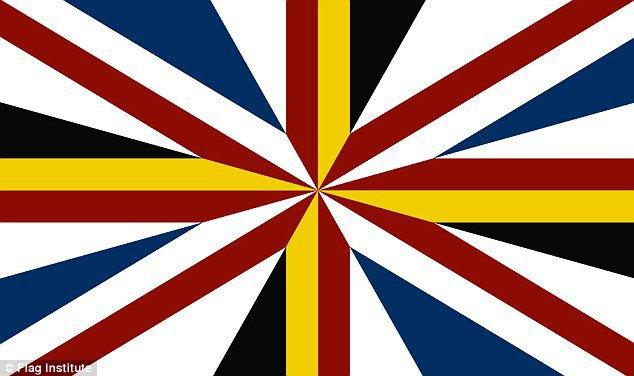 Financial Times предложила свою версию флага Великобритании. Изображение № 1.