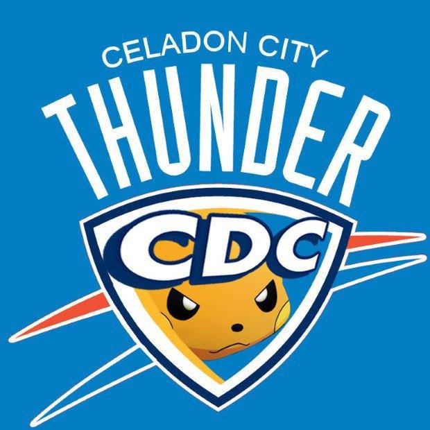 Дизайнер добавил покемонов в эмблемы команд NBA. Изображение № 3.