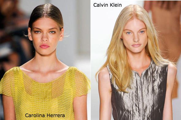 Модные причеси с показов NYFW весна-лето 2012. Изображение № 16.