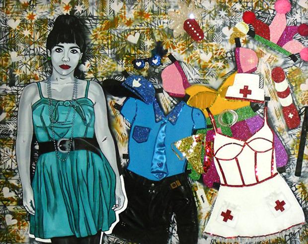 """Marlys Fuego, """"Paper Dol"""", 2012.. Изображение № 7."""