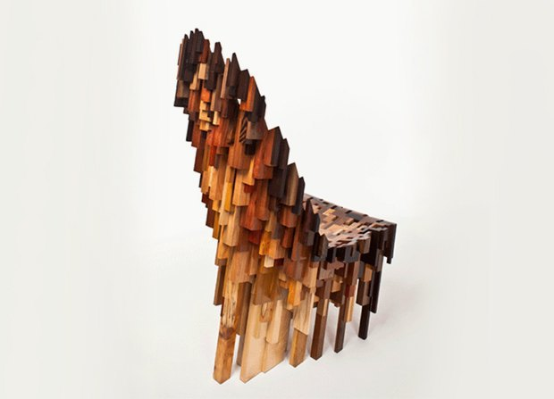 Глитч-мебель: красивые компьютерные ошибки в интерьере. Изображение № 35.
