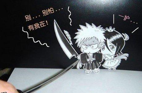 Фотоработы аниме избумаги. Изображение № 7.