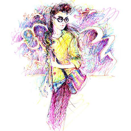 Иллюстрации Antoinette-Fleur. Изображение № 14.