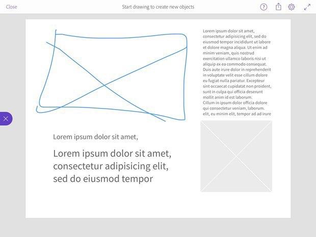 Adobe выпустила приложение для макетирования на iPad. Изображение № 5.