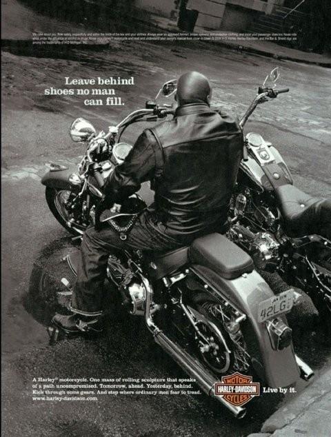 Harley Davidson: реклама легенды. Изображение № 17.
