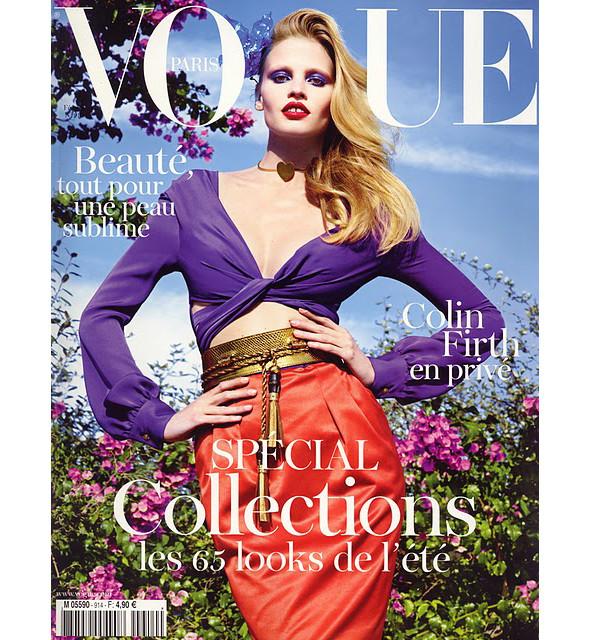 Изображение 2. En Vogue: обложки американского, французского и турецкого Vogue.. Изображение № 3.